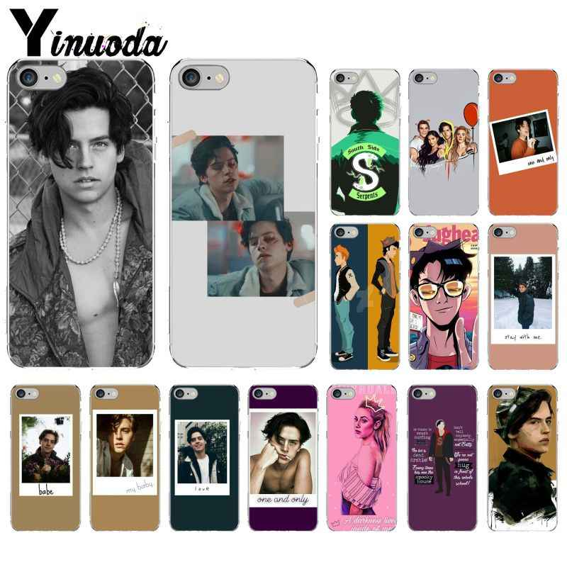 American TV Riverdale Jughead Jones Printing Drawing Phone Case cover Shell for Apple iPhone 8 7 6 6S Plus X XS MAX 5 5S SE XR