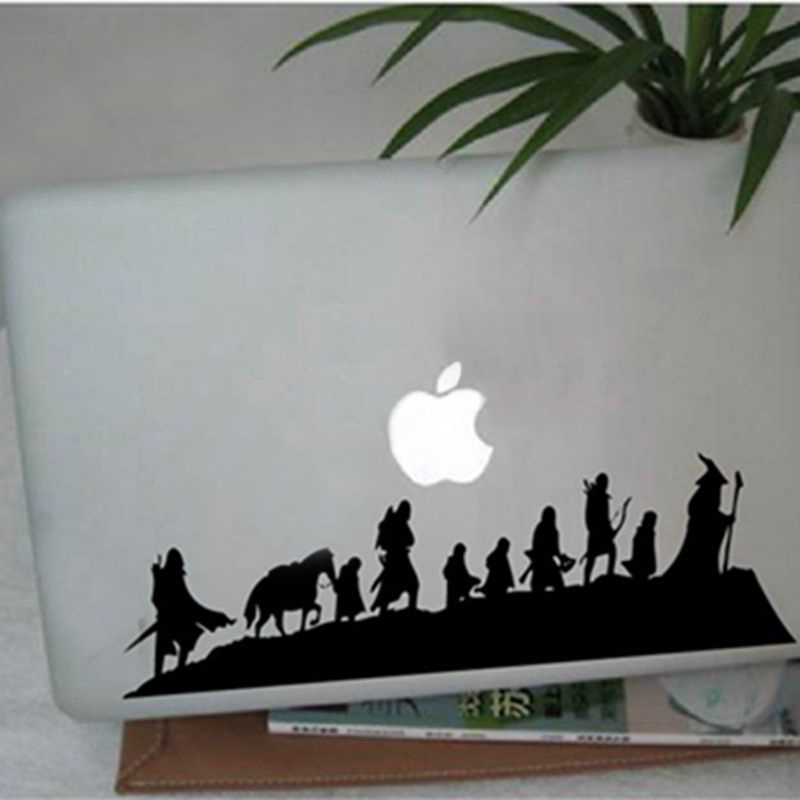 Gratis verzending The Lord of The Rings - Caravan - Vinyl Muurtattoo sticker, fantasy film kunst cool auto laptop wanddecoratie