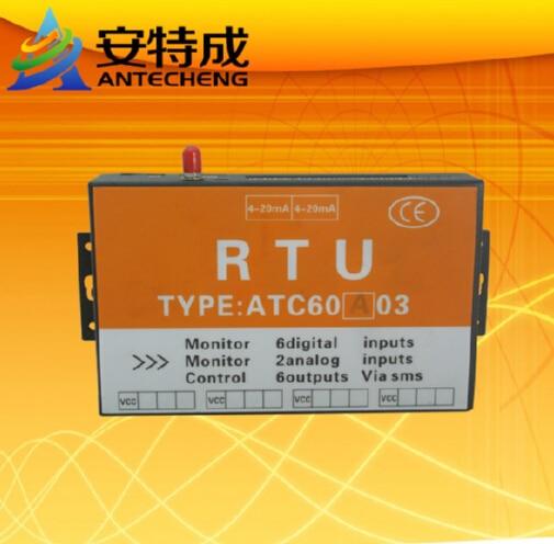 Factory Direct Sale ATC60A03 RTU with 6DI 2AI 6DO gsm alarm controller