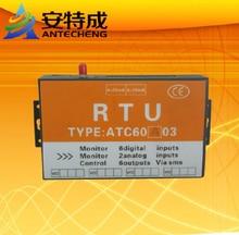 Завод Прямые Продажи ATC60A03 RTU с 6DI 2AI 6DO gsm контроллер сигнализации