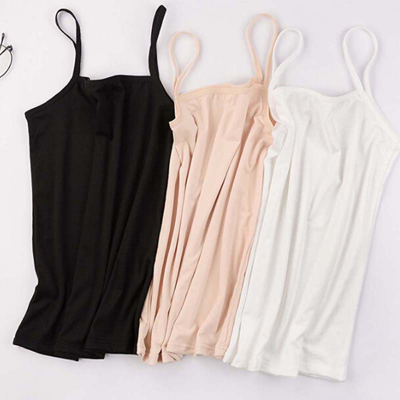 Summer Sexy Women Spaghetti Strap Streetwear Cami Tank Bustier Crop Top Women Cropped Tops Solid Fitness Lady Camis Femme 2020
