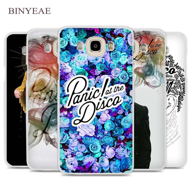 new product fe76a c2c21 US $1.91 34% OFF|BINYEAE Panic At The Disco Cell Phone Case Cover for  Samsung Galaxy J1 J2 J3 J5 J7 C5 C7 C9 E5 E7 2016 2017 Prime-in  Half-wrapped ...