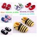3 pairs/lot младенческой мальчик мягкий обувь предварительно пешеходов младенцы ползать обувь впервые уокер весна осень обувь для дети