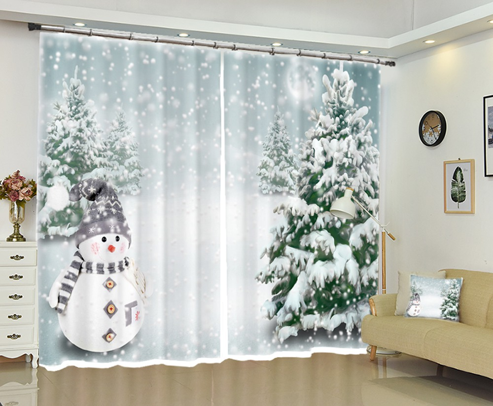 Snowman with Christmas Tree Christmas Decoration High ...