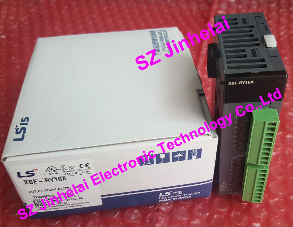 100% New and original XBE-RY16A LS(LG) PLC 16 point Relay output цены