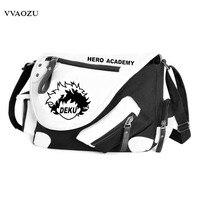 My Hero Academia Satchel Shoulder Bag Student's School Bags Cartoon Travel Messenger Bag for Teenagers