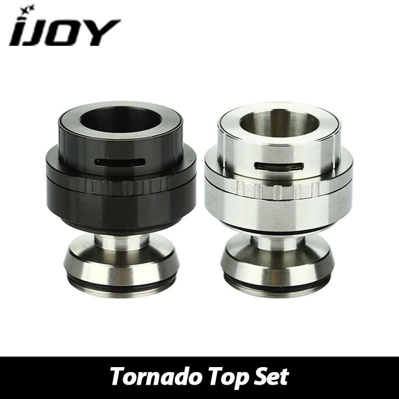 100 Genuine IJOY Tornado RDTA Top Airflow Electronic Cigarette Set Spare Part for Tornado RDTA Atomizer