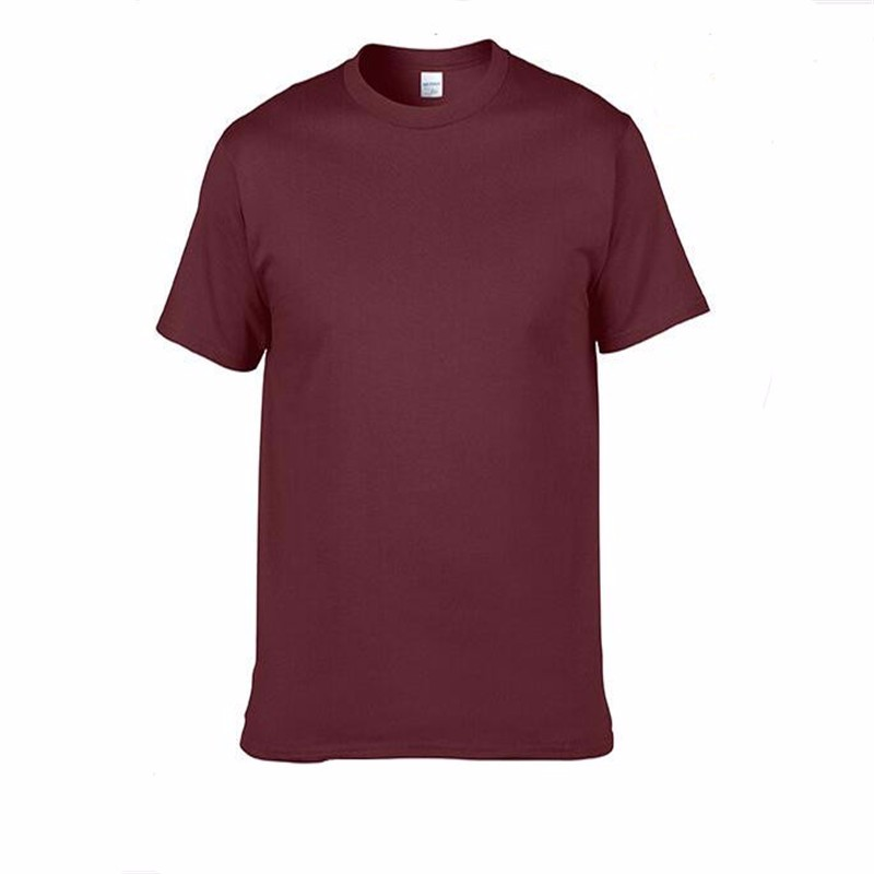 HTB1oma2SpXXXXcZaXXXq6xXFXXXJ - Men's Classic Solid Color High-Quality 100% Cotton T-Shirts - Wide Color Variety