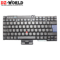 New Original For Lenovo Thinkpad T60 T60P T61 T61P T400 T500 W500 Keyboard UK English Teclado