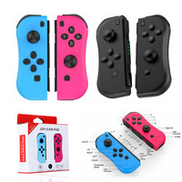 For NS (L/R) Wireless Bluetooth Game Controllers Red Blue Gamepad Joystick for Nintend Switch Console
