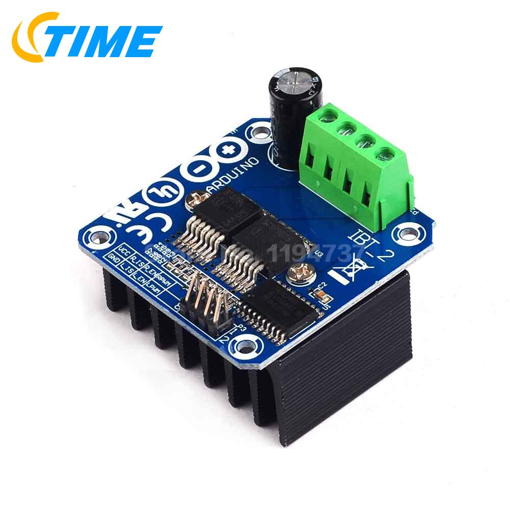1PCS High-Power Smart Car Motor Drive Module BTS7960 43A Semiconductor Refrigeration Drive for Arduino