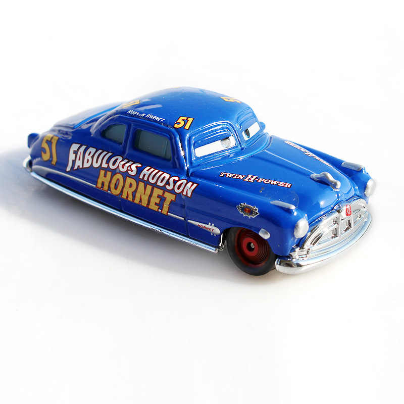Disney Pixar Cars 3 2 Hebat Hudson Hornet Sally Mater Lightning McQueen 1:55 Diecast Logam Paduan Model Mobil Hadiah Anak mainan Anak
