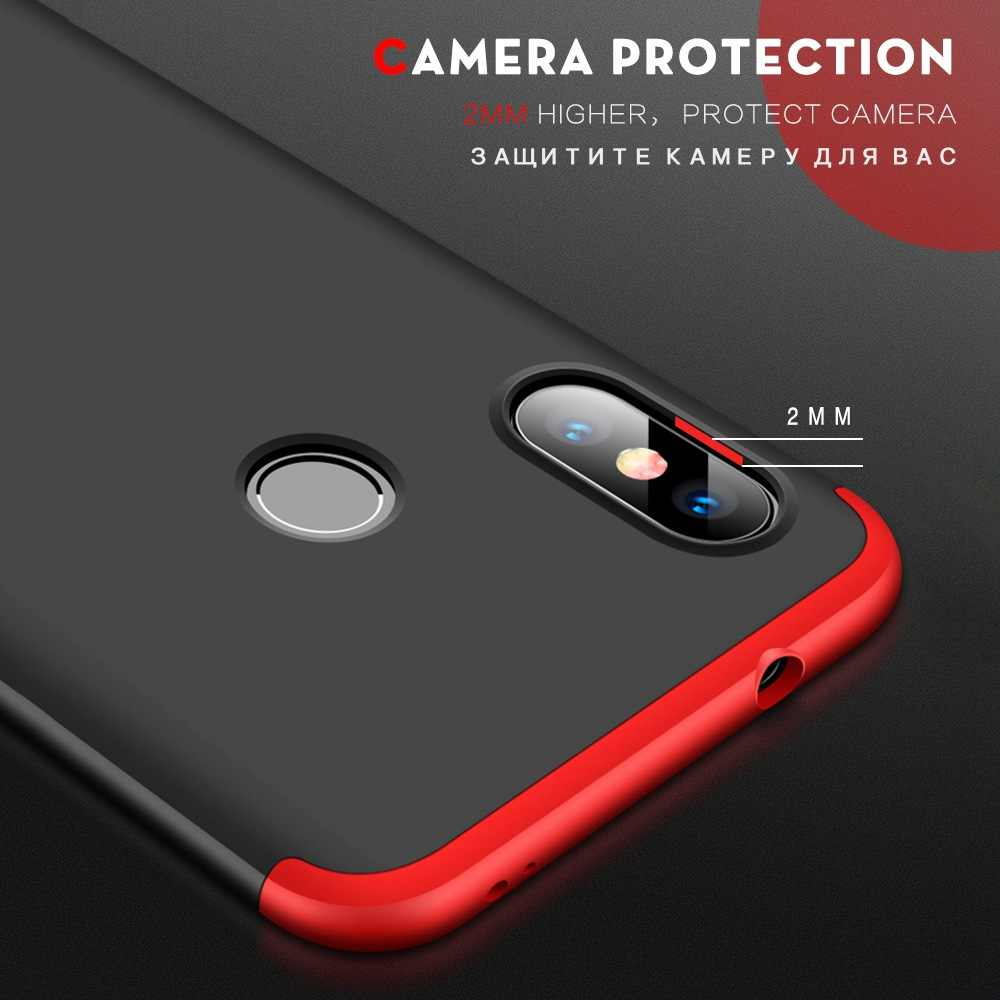43b5091d74c ... Phone Case For Xiaomi Mi A2 Lite Cases 360 Cover For Xiomi Pocophone F1  Coque For ...