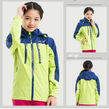 2016 Kids Outdoor Soft Shell Jacket Fleece Warm Waterproof Windproof Hunting Hiking Climbing Camping Snowboard Print Logo