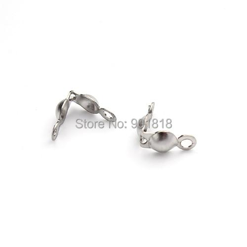 100 X 20cm Métal Boule Étiquette Chaîne Étiquettes Corde avec Connecteur Clasp