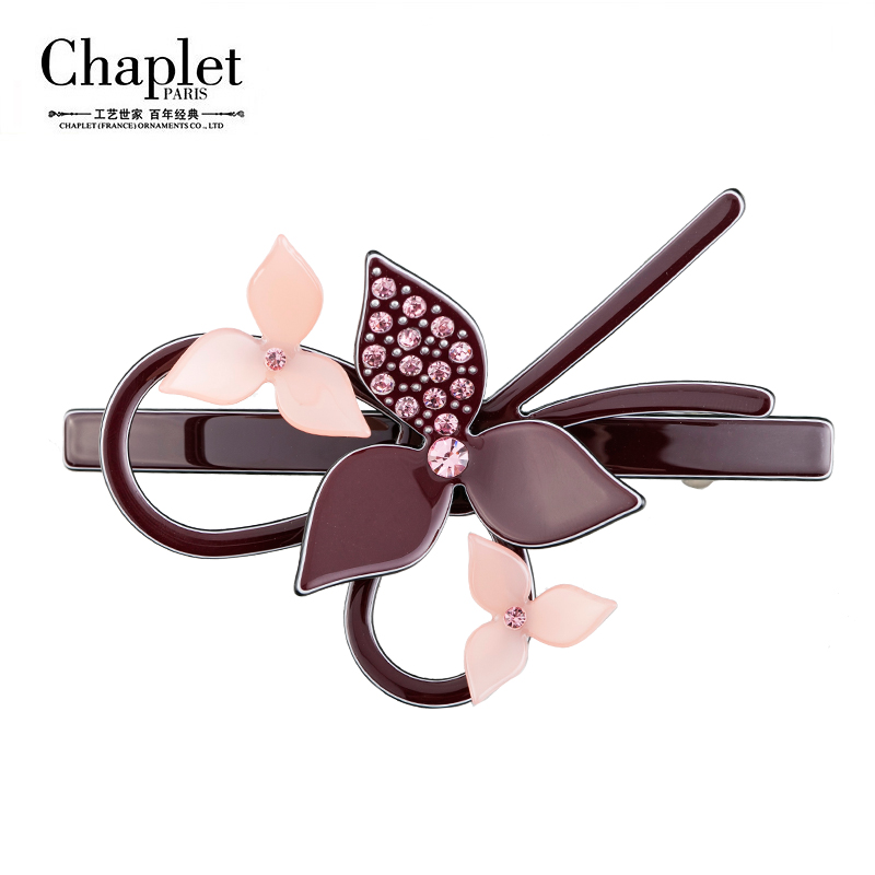Chaplet 2016 New High Quality Flower Hair Accessories Barrettes Contrast Girls Hair Clip Korea Design Hair