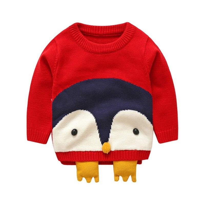 1 ~ 4 T Kinder Kinder Pullover Herbst Baby Cartoon Tier Druck Baumwolle Oberbekleidung Mädchen Mantel Kinder Kleidung Diversifizierte Neueste Designs