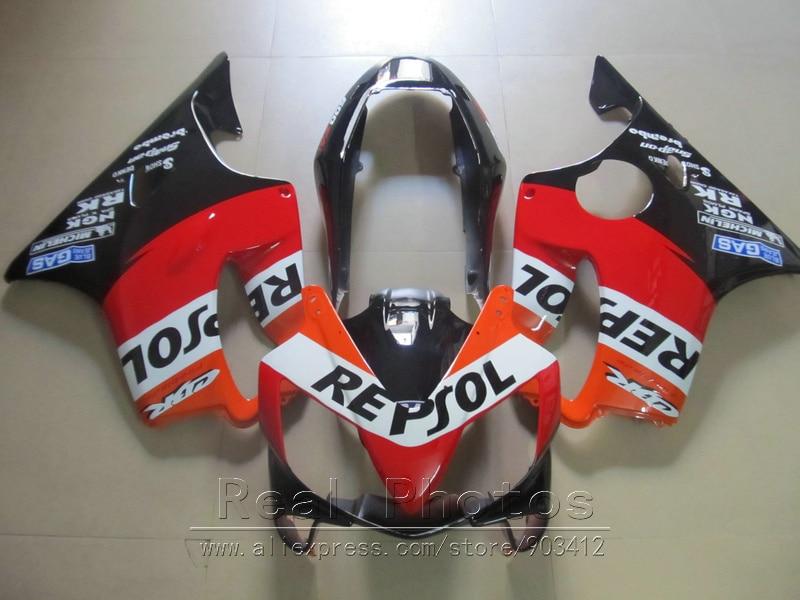Литьевая форма ABS пластик обтекатель комплект для Honda CBR600 F4I 04 05 06 07 оранжевые черные Обтекатели набор 2004 2007 CBR600 F4I BN21