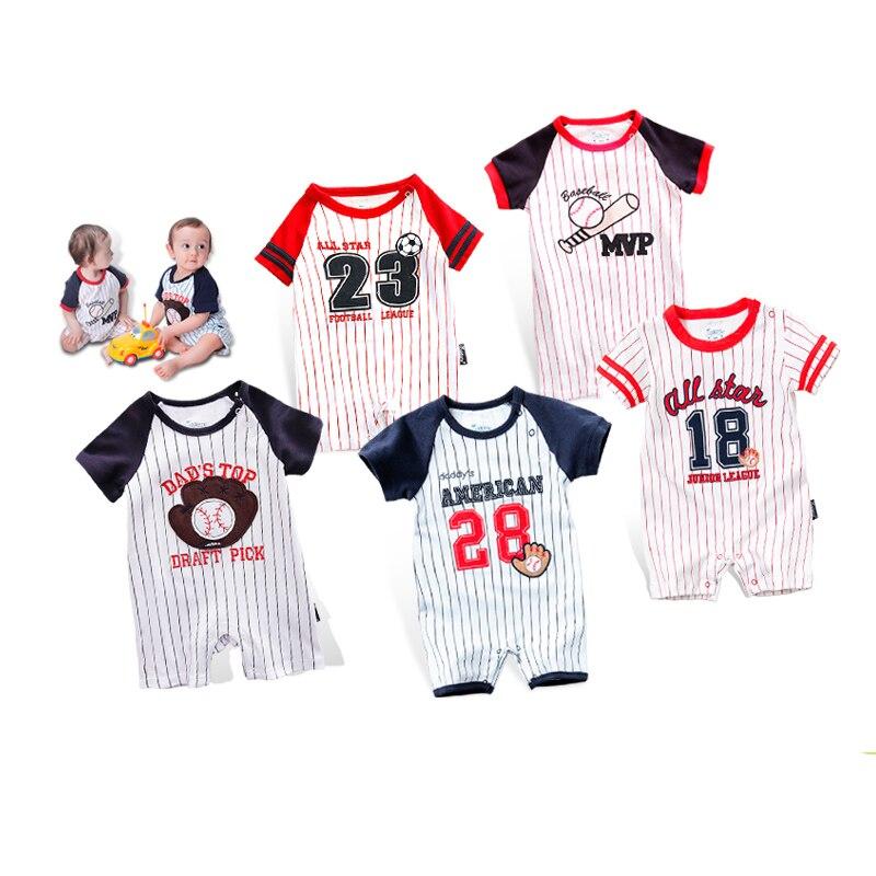 Honkbal Outfits voor kinderen trainingspak Jumpsuit Baby Romper - Babykleding - Foto 1