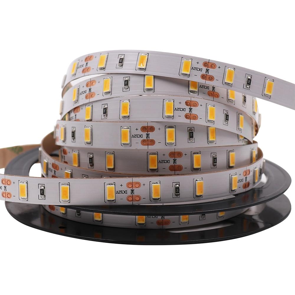 SAMSUNG Seúl SMD 5630 tira de led 5m 10m 15m 60led/m impermeable IP65 12V cinta luz blanca neutra, buena calidad, envío gratis Bombillas LED H1 súper brillantes de alta potencia H3 10-SMD 5630 luces antiniebla LED para coche luz de giro luz de conducción blanco ámbar rojo D45