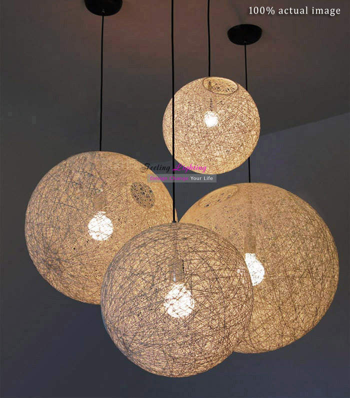 50cm free wholesale modern twine ball hemp rope light whiteblack 50cm free wholesale modern twine ball hemp rope light whiteblackbeige flax cord suspension pendant lamp we have various sizes in pendant lights from aloadofball