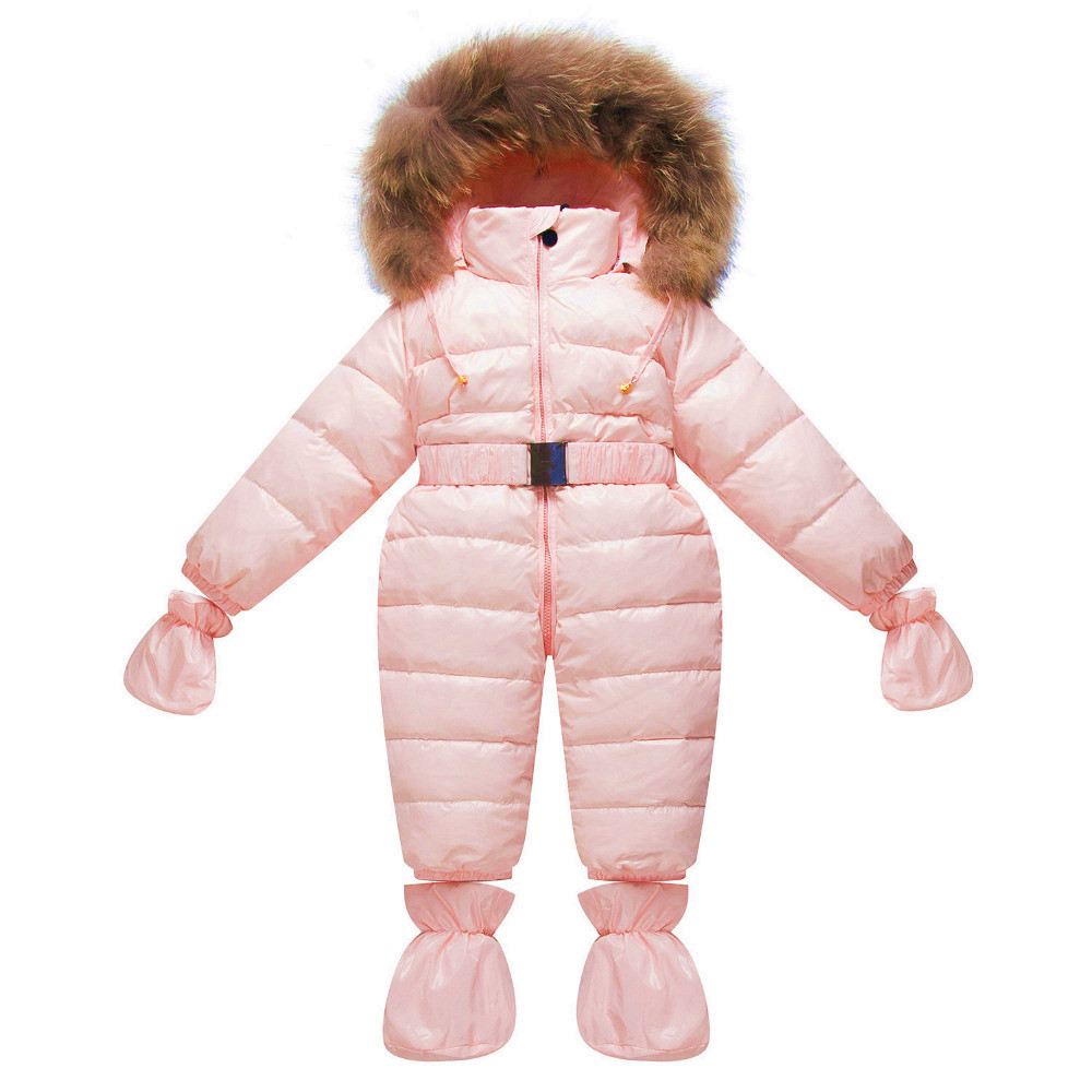 Winter M Brand Baby Clothes Unisex Newborn Duck Down Romper Infant Jumpsuit Overall Baby Boy Romper Girl Thick Warm Snowsuit baby clothing summer infant newborn baby romper short sleeve girl boys jumpsuit new born baby clothes