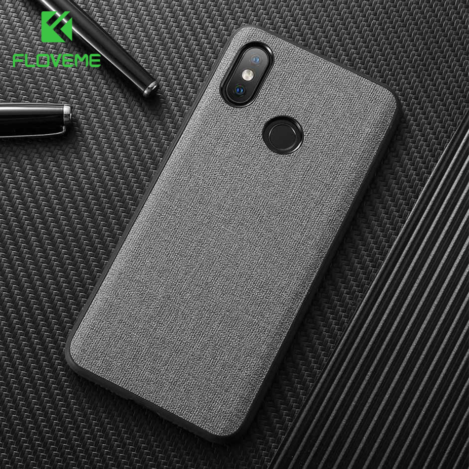 FLOVEME Fabric Phone Case For Xiaomi 9 8 Lite Redmi Note 7 Colorful Cloth 6 Pro 5 Plus Funda Capa