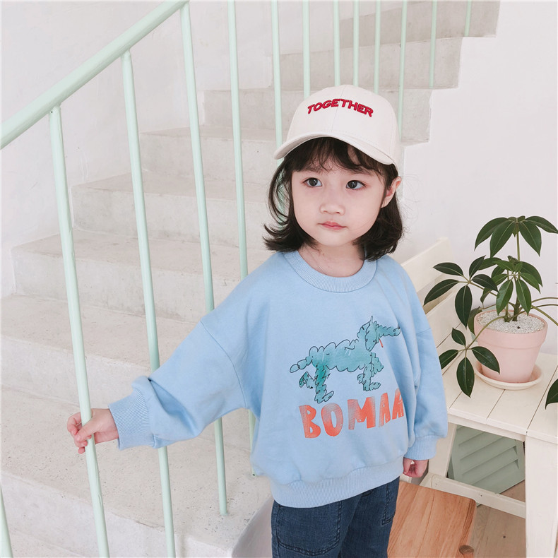 Bobo Choses Kids Sweaters 2018 Autumn Sweatshirts Long Sleeve Cute Pattern Tshirts Baby Boys Girls Clothes Sports Top Tees