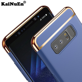 9ff616f9b8f KaiNuEn de lujo del teléfono de la armadura batería coque de cubierta caso  para samsung galaxy note 8 note8 casos accesorios de plástico duro 3 en 1