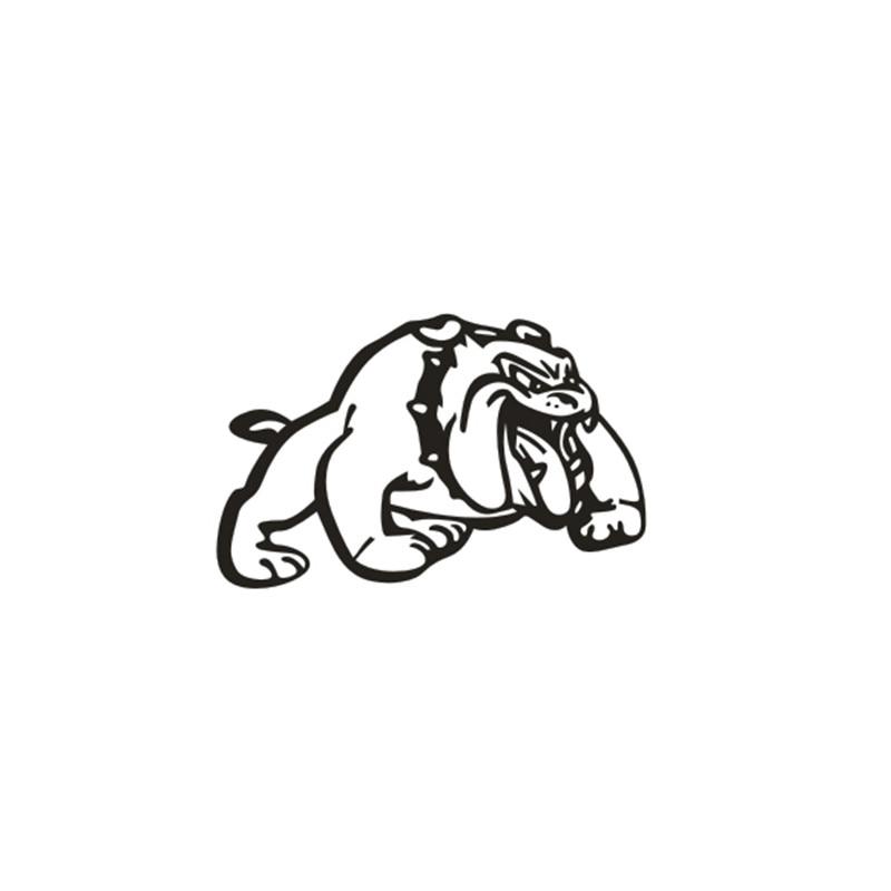 Amerikan Bully Köpek karikatür pet Araba Sticker Güçlü Yapışkanlı Vinil Etiketler Arabalar Çıkartma Araba Styling Aksesuarları 15.5 * 10 cm
