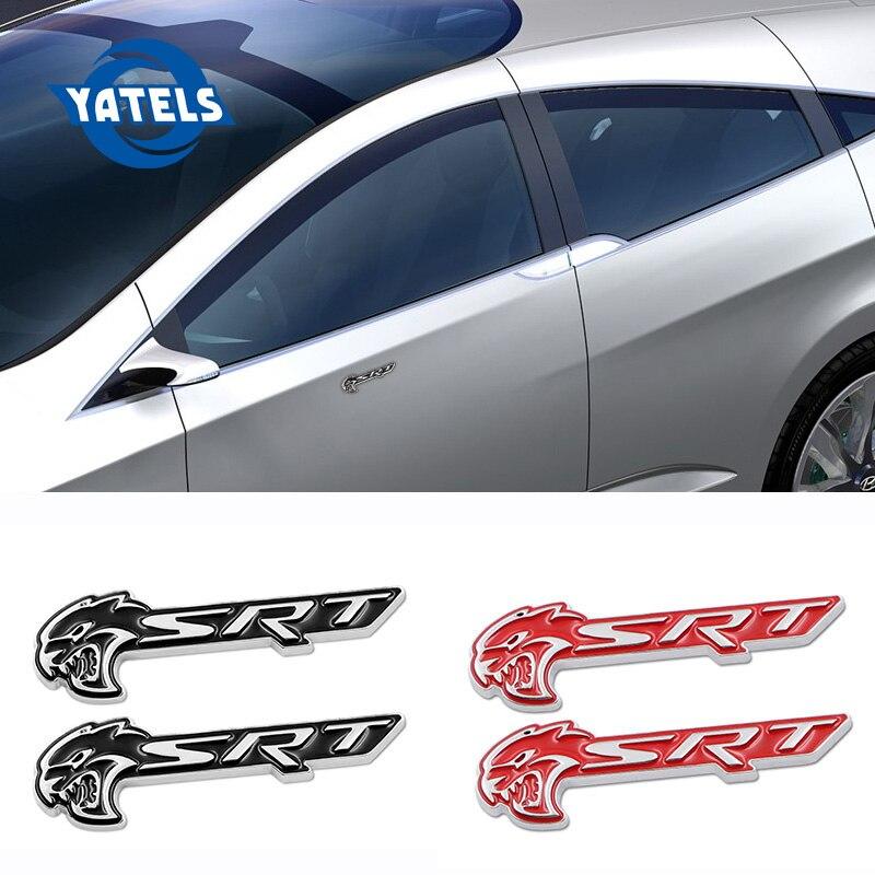 Fit for Dodge Demon Challenger Charger Emblem Sticker Car body Badge Red Black