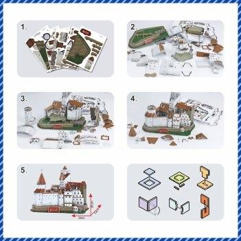 Novi model 3D slagalice s Rumunjskom, uz upotrebu modela Bran - Igre i zagonetke - Foto 4