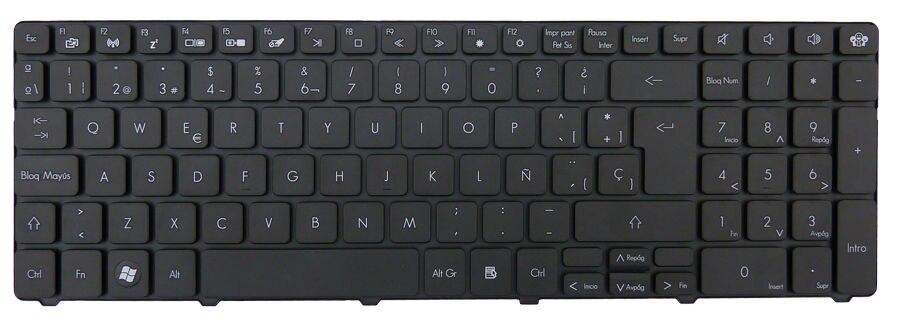 New notebook Laptop keyboard for Gateway NV59C NV73A NV79C SP  layout russian keyboard for gateway ne56 ne56r ne51b p5ws6 ne71b nv59a nv59c nv79c ru black