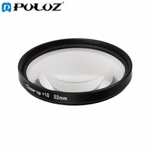 For GoPro Accessories Sport Action Camera Proffesional 52mm 10X Macro Lens Close-up Filter For GoPro HERO5
