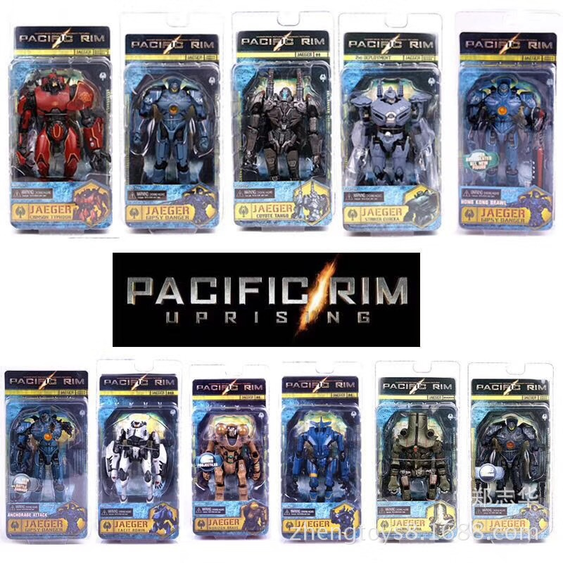 Original Pacific Rim Action Figures PVC Collectible Model Toy Jaeger Crimson Gipsy Danger Coyote Pacific Rim Kids toys Gifts BOX