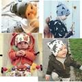 Новое Прибытие Теплые Детские Шапки Мода Baby Дети Мальчики Девочки Малышей Трикотажные Вязания Шапочки Зимний Бал Hat Cap