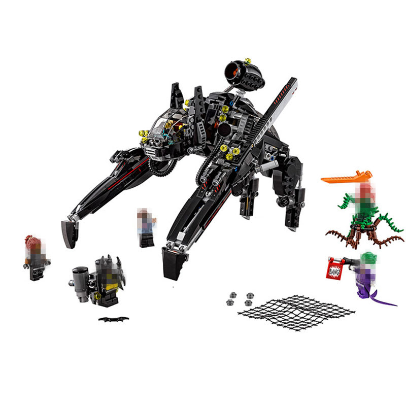 STZhou 775pcs LEPIN Batman Ride The Scuttler With Batman Man-Bat Building Block Toys Compatible Legoe Batman Movie lepin 07056 775pcs super heroes movie blocks the scuttler toys for children building blocks compatible legoe batman 70908