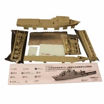 OHS Orange Hobby N07095398 1/700 USS Comstock LSD45 landing ship Assembly Scale Military Ship Model Building Kits oh