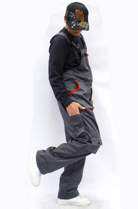 Hot Men loose plus size casual Siamese trousers bib pants Male overalls wear-resistant work uniforms trousers High quality S-4XL