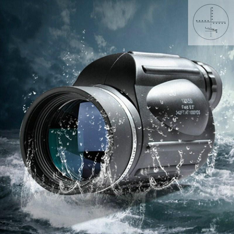 ФОТО Hot Sale 13X50 Monocular Power Hd Wide Angle LLL Night Vision Waterproof Telescope Rangefinder Professional Spotting Scope Bak4