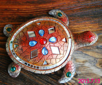 Creative resin crafts ornaments Home Furnishing tortoise defends the anti villain feng shui supplies