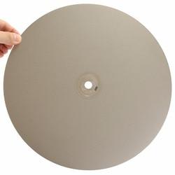 12 pulgadas 300mm Grit 46-2000 disco de molienda de diamante ruedas abrasivas recubiertas de disco plano para vidrio de piedra preciosa