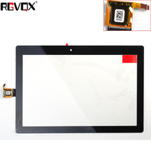 RLGVQDX New For Lenovo A10-30 10''inch Touch Screen Digitizer Glass Sensor Replacement Parts White/Black new black 10 1 inch touch screen digitizer sensor for ainol novo 10 numy 3g ax10t free shipping