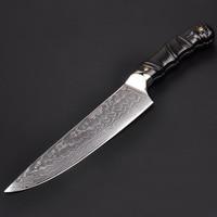 Кухня Ножи 8 дюймов Pro шеф повар ножи японский VG10 67 слоев Сталь Дамаск Кухня Ножи сандалового дерева