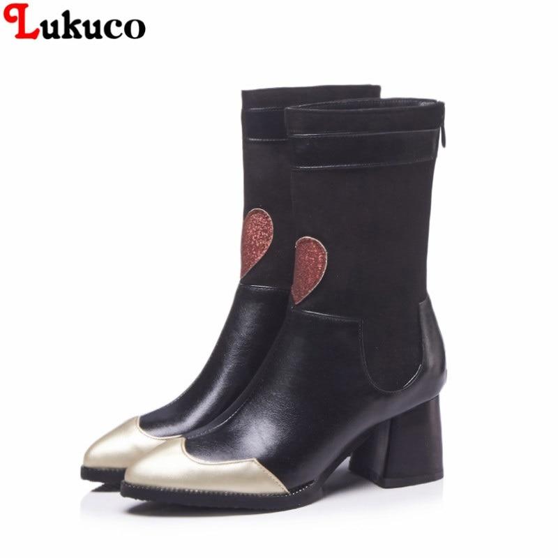 40 Bootas Automne 46 Taille Femme Noir Bottes 48 Gratuite 45 Moto Plus  Grande 41 Rapide marron 43 D hiver Lukuco 47 42 Chaussures 44 Livraison  xn1Ywfqx 3fef11cbc580