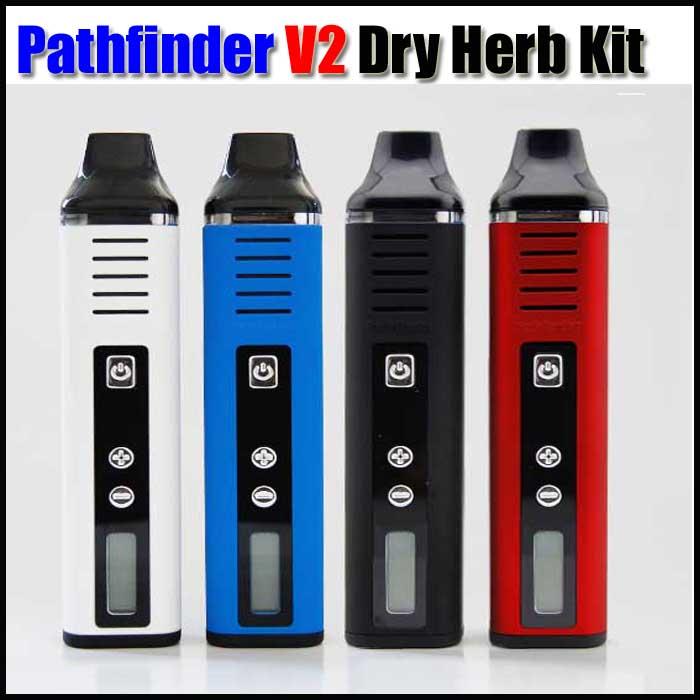 bilder für Pathfinder V2 Trockenen Kraut Vaporizer Elektronische Zigarette China 2200 mah Batterie E-zigarette Verdampfer