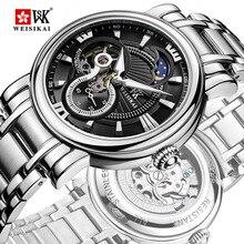 WEISIKAI Fashion Mens Watches Brand Luxury Men Business Casual Mechanical Watches Military Wristwatch tourbillon zegarki meskie