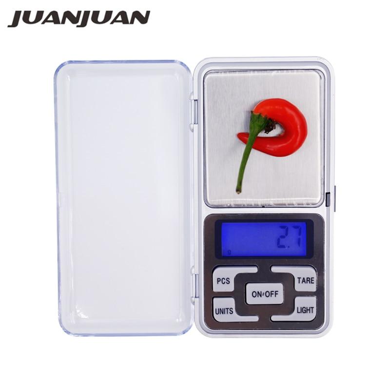 وزن 1 کیلوگرم 0.1 گرم مواد غذایی جواهرات قابل حمل دیجیتال الکترونیکی وزن تعادل وزن 1000 گرم مقیاس وزن 20٪ تخفیف