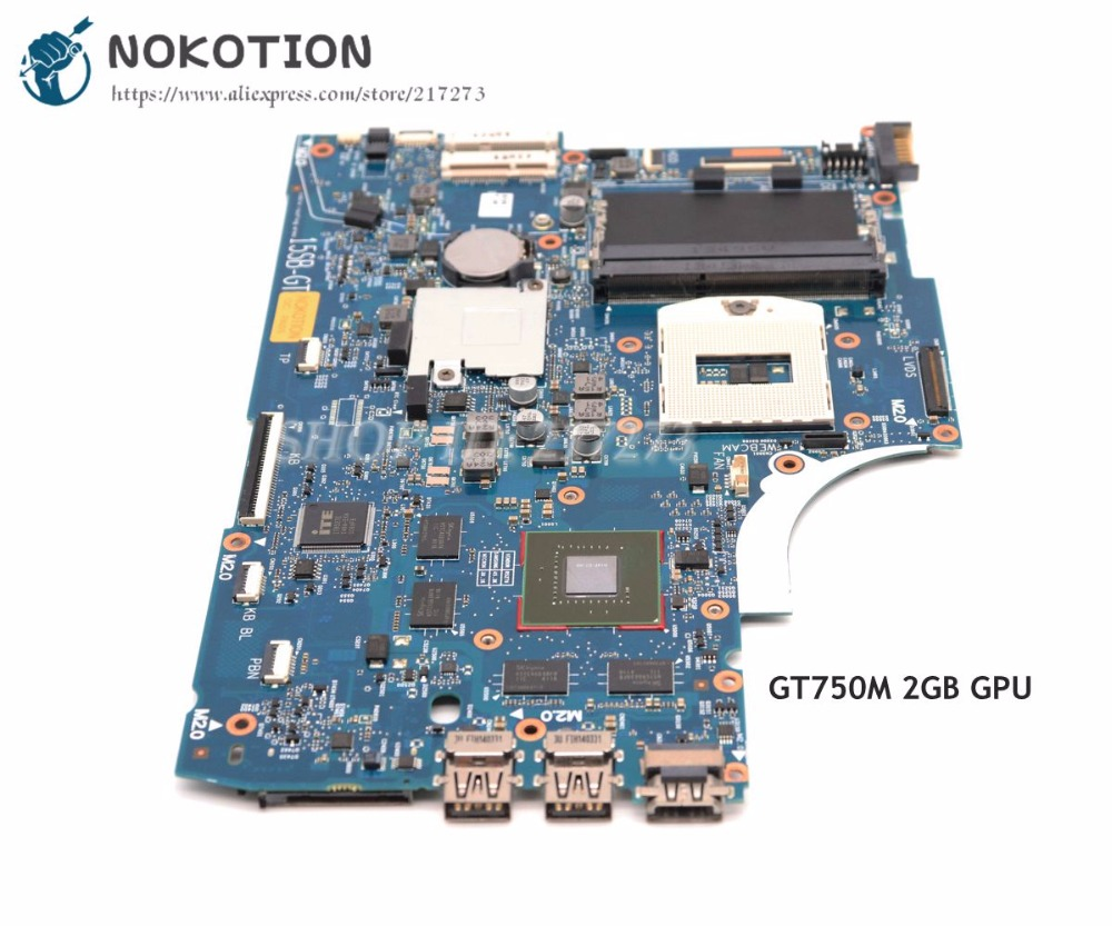 NOKOTION 741653-501 741653-001 720569-501 For HP Envy 15-J105TX 15-J Laptop Motherboard HM86 DDR3L GT750M 2GB nokotion 720566 501 720566 001 for hp envy 15 15t j000 15t j100 motherboard geforce gt740m 2gb ddr3l