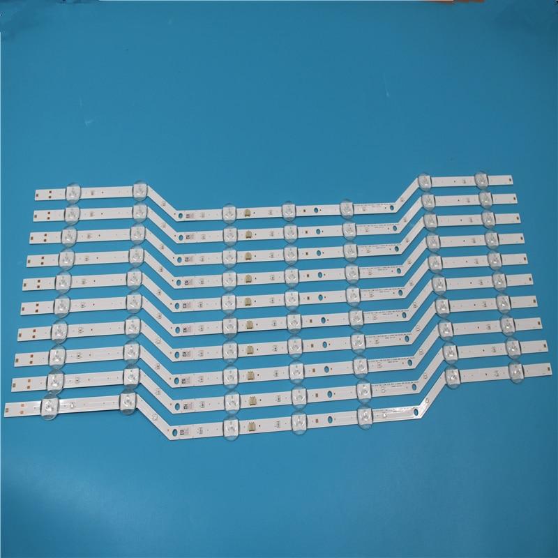 NEW 10 PCS 7LEDs 620mm LED Backlight Strip For SAMSUNG UN32J4000AF BN96-36236A BN96-36235A V5DN-320SM1-R2 2015 SVS32 FHD F-COM